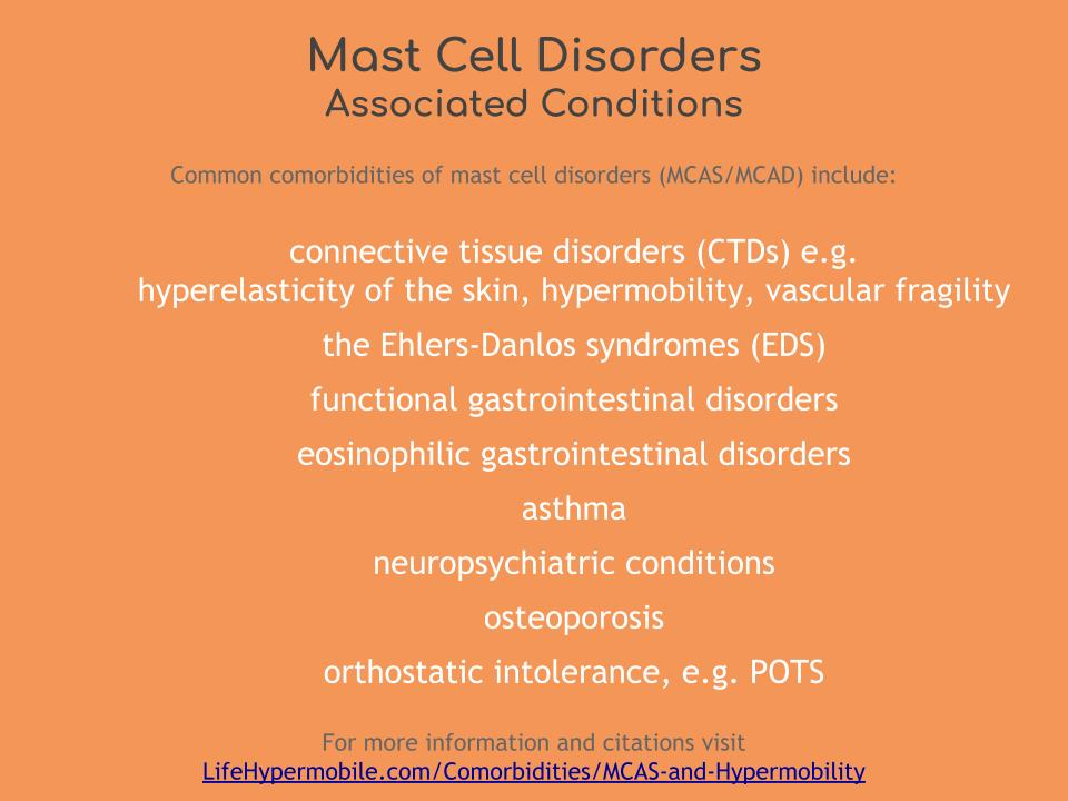 Mast Cell Activation Syndrome and Hypermobility - Life Hypermobile